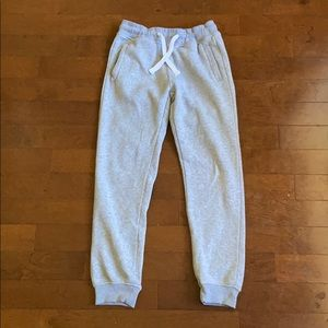 Southpole Boy's Grey Sweatpants, Size M